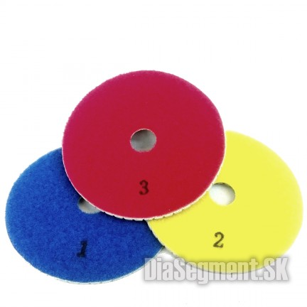 Flexible polishing disc 3-stop for GRANIT, 100 mm