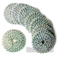 Flexible polishing pad SILON, 100 mm
