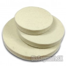 Flexible whool felt disc, 80-100-125 mm