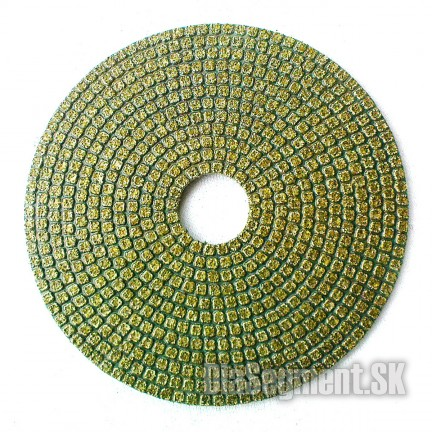 Flexible polishing disc EP MARBLE, 100 mm