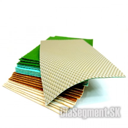 Electroplated polishing paper, 120 x 180 mm