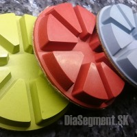 Polishing discs for floor grinders, 100 mm