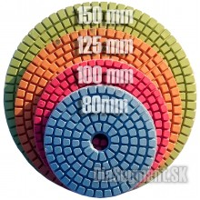 Flexible polishing pad STANDARD, 80-100-125-150 mm