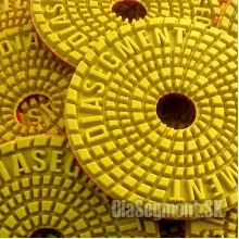 Flexible polishing pad PREMIUM, 100 mm