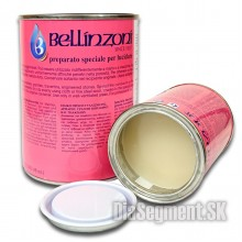 Polishing paste, transparent