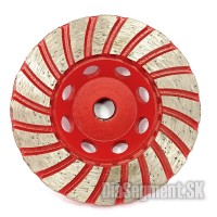 Grinding wheel TURBO PREMIUM RED, #16 - 100 mm