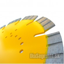 Cutting disc for masonry-reinforced concrete, TURBO SEGMENT